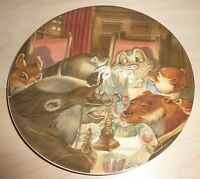 WEDGWOOD - WIND IN THE WILLOWS PLATE - THE BANQUET  (Ref:J7010)