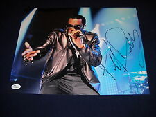 P Diddy Puff Daddy Sean Combs Autographed 11x14 Photo Music/ JSA