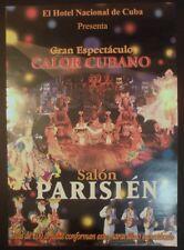 Original Cuban Poster for Famed HOTEL NACIONAL DE CUBA Parisien Nightclub