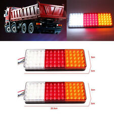 2X 75 LED Tail Lights Ute Trailer Caravan Truck Boat Stop Reverse Indicator 12V