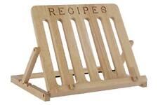 Premier Housewares Support pour Livre de recettes en bois D'hévéa avec Inscri...