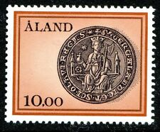 Aland Island Stamp Scott #20 Seal of St. Olaf 1984 MNH