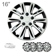 """FOR HYUNDAI NEW 16"""" ABS SILVER RIM LUG STEEL WHEEL HUBCAPS COVER 547"""