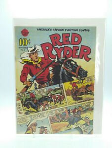 RED RYDER #1 Comic Reprint 1989 Free Shipping