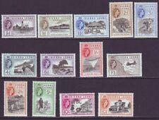 Sierra Leone 1956 SC 195-207 MH Set