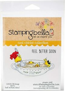Stamping Bella Cling Stamps - Chick-en Soup