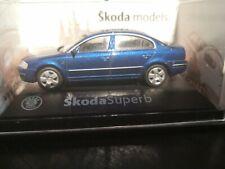 Skoda Superb Modellauto PKW 1:72 OVP Abrex (042)