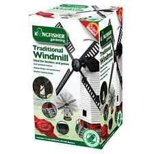 New listing Solar Powered Light Up Traditional Garden Windmill H52cmxW42cmxD18.5cm.Slmot ion3