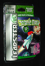 Leap Frog Leapster 1st - 4th Grade Cosmic Math Arcade-Style Fun Brand New Sealed