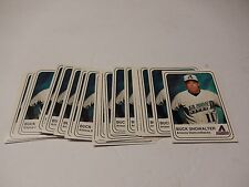 LOT of 30 Buck Showalter Arizona Diamondbacks Baseball Cards Bank One Ballpark