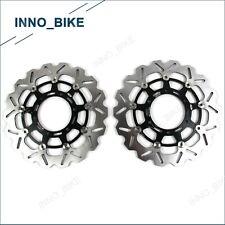 Fits Suzuki GSXR1000 2009 - 2014 2013 2012 2011 2010 Front Brake Disc Rotors