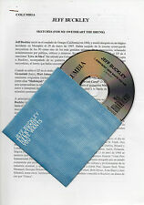 "JEFF BUCKLEY ""EVERYBODY HERE WANTS YOU"" PROMO CD SINGLE+SPANISH PRESS DOSSIER"
