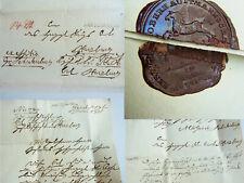 Vorphila-Brief 1831 Oberhauptmannschaft HARZ: Geld Schützengesellschaft HARZBURG