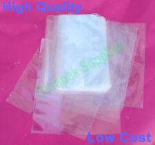 "500 pcs 8X12"" Polyolefin Heat Shrink Film Wrap Flat Bags w/ Vent Hole Food Safe"