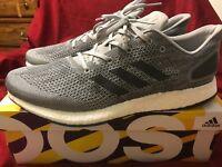 Adidas PureBOOST DPR PrimeKnit Mens Shoes Size 12 Boost Gray White NIB