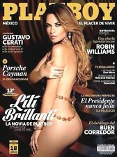 PLAYBOY MEXICO LILI BRILLANTI OCTOBER 2014 PLAYBOY MEXICAN EDITION OCT 2014