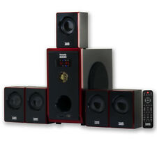 Acoustic Audio AA5103 Home Theater 5.1 Speaker System Surround Sound Multimedia