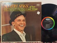 Frank Sinatra Sings Of Love And Things VG+ MONO BEAUTIFUL!
