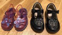Girls Bundle Of Shoes Size 6 Kids Clark's  <D2307