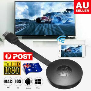 Wi-Fi Digital HDMI Media Video Streamer Adapter For iOS/Android Chromecast Au