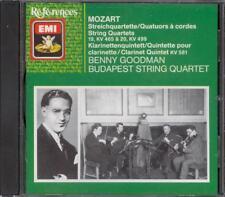 MOZART - Clarinet Quintet / String Quartets 19&20 - Benny GOODMAN / BUDAPEST SQ