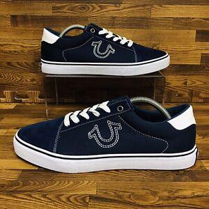 True Religion Nuno Suede Canvas (Women's Size 8.5) Athletic Casual Sneaker Shoe