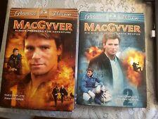 New listing MacGyver Series Dvd Seasons 1 & 2 Original Series