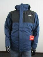 Asphalt NWT Mens TNF The North Face Cinder Tri 3 in 1 Hooded Waterproof Jacket