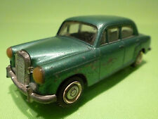 TEKNO DENMARK 1:43 MERCEDES BENZ 180- RARE MODEL  - IN GOOD CONDITION .