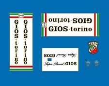 "Gios ""Super Record"" Bicycle Frame Stickers, Decals, Transfers  n.22"