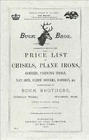 Buck Bros. 1890 Catalog, Paperback, Brand New, Free shipping in the US