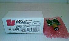 Federal Signal Led 024rsb Red Led Lampindicator 24vacdc Series B Nib