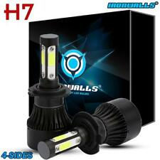 H7 LED Headlight Bulbs 255000LM 1700W 6000K Cool White Conversion Kit 4 Sides