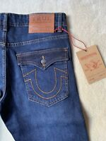 True Religion Jeans Blue Stretch Slim Fit Rocco Division New With Tags W36 L32