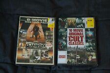 Move Lot 8 Westerns and 10 Cult Classics DVD