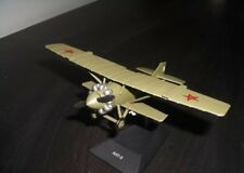 1:72 Sukhoi ANT-5 Soviet Airplane Die cast model & magazine 49 DeAgostini