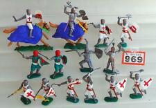 Painted Plastic Military Personnel Timpo Toy Soldiers 11-20