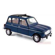 NOREV 1:18 AUTO DIE CAST RENAULT 4 1965 BLU COPENHAGUE ART 185241