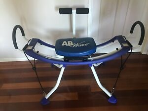 AB Wave machine - Home Exercise Machine with DVDs