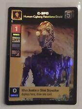 Star Wars Young Jedi ccg M/NM C-3PO, Human-Cyborg Droid Reflections Foil