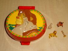 Polly Pocket mini The Lion King Playcase Disney 100% complete König der Löwen