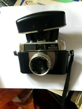 Vintage Retro Halina Paulette Electric Camera 35MM LOMOGRAPHY WITH CASE