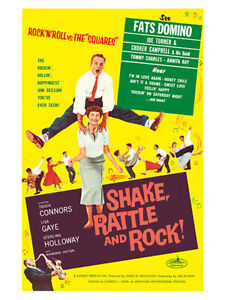 Fifties - Shake, Rattle and Rock movie poster reprint (1956)