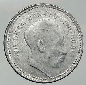 1946 NORTH VIETNAM Old HO CHI MINH Rebel Communist RARE Vintage Dong Coin i92714