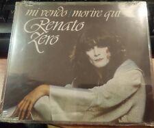 RENATO ZERO - MI VENDO / MORIRE QUI  - CD SINGOLO SIGILLATO PICTURE RARO