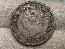 Key Date 1858 Large Cent CANADA.  #109