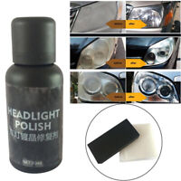 30ml Headlight Renovation Car Repair Set Liquid Scratch Oxidation Polishing