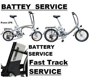 Powacycle Lynx Puma LPX  Electric Bike Battery Service