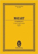 EULENBURG MOZART W.A. - SYMPHONY JUPITER KV551 C MAJOR - POCKET SCORE Classical