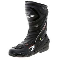Richa Tracer Evo Motorcycle Race Sports Track Waterproof CE Boots - Black